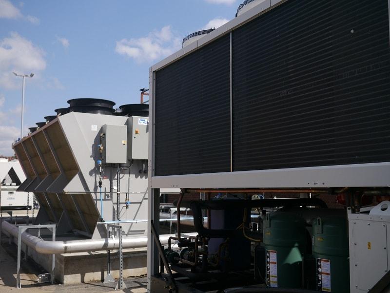 Heat rejection equipment
